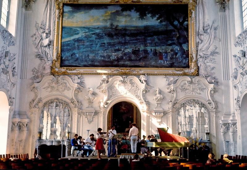 Rehearsal in Munich Palace - Munich, Germany
