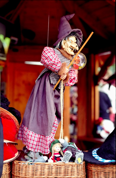 Witch puppet - Germany