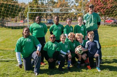 Gesu Fifth Grade Soccer, Fall 2014
