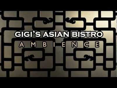 Gigi's Asian Bistro ambience.