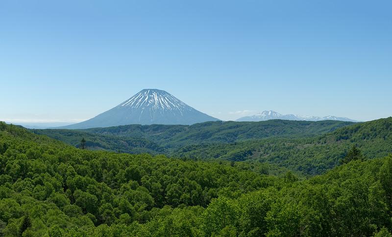 2013-06-12 Mt. Yotei from Nakayama-toge