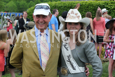 Chairman Will Allison & Miss Rodeo Virginia Dakota Monroe