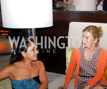 Atefeh Shaigahy, Feri Saberine, Grand Opening of Harth Restaurant, April 27, 2011, Kyle Samperton