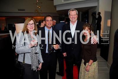 Nancy Voss, Stephen Jocobsen, Lori Keipper, Paul Keipper, Grand Opening of Harth Restaurant, April 27, 2011, Kyle Samperton