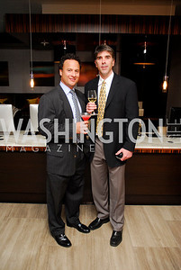 Roberto Samson, Ken Lovett, Grand Opening of Harth Restaurant, April 27, 2011, Kyle Samperton