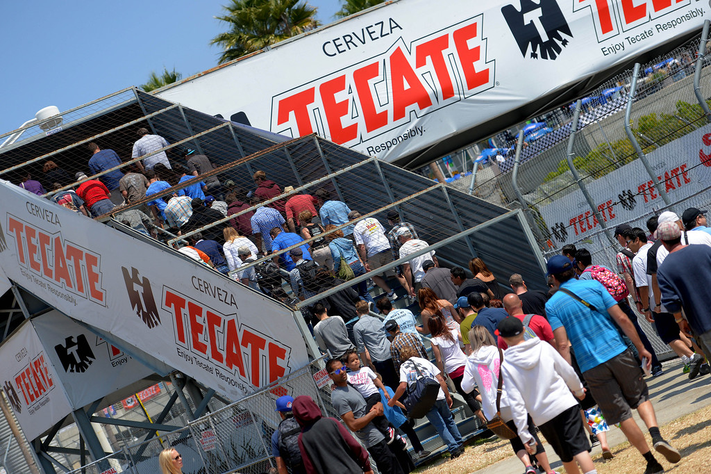 . The 40th Annual Toyota Grand Prix of Long Beach in Long Beach, CA. on Saturday April 12, 2014. (Photo by Sean Hiller/ Daily Breeze).