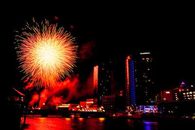 Grand Rapids Fireworks July 1, 2017