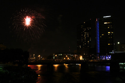 Grand Rapids Fireworks  July 4, 2012