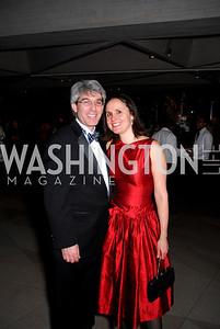 Randy Brater, Erin Barnes, February 23, 2011, Gauguin Opening, Kyle Samperton