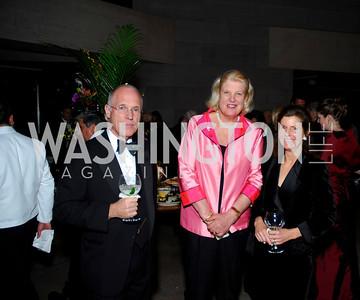 Haven Pell, Ingola Hodges, Simi Pell, February 23, 2011, Gauguin Opening, Kyle Samperton