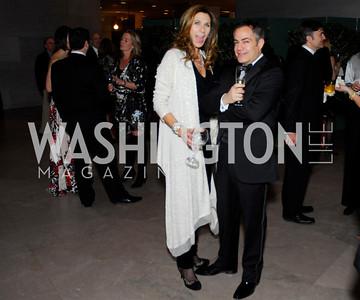 Lorie Peters, Peter Pappas, February 23, 2011, Gauguin Opening, Kyle Samperton