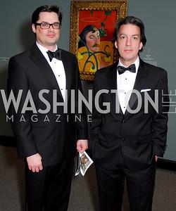 Chris Hatson, Rick Parnell, February 23, 2011, Gauguin Opening, Kyle Samperton
