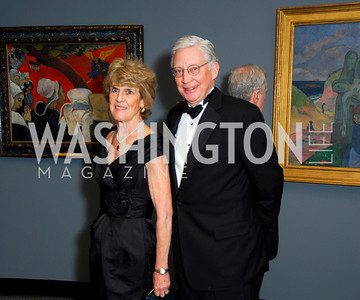 Dorothy Woodcock, Ken Woodcock, February 23, 2011, Gauguin Opening, Kyle Samperton