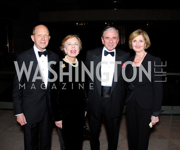 John Irelan, Barbara Jones, Michael Petit, Jeanette Petit, February 23, 2011, Gauguin Opening, Kyle Samperton