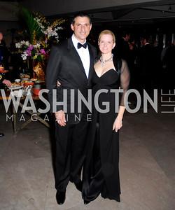 Bennett Stichman, Shannon Stichman, February 23, 2011, Gauguin Opening, Kyle Samperton