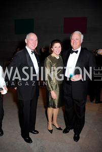 Jim Martin, Alice Whelihan, Bruce Whelihan, February 23, 2011, Gauguin Opening, Kyle Samperton