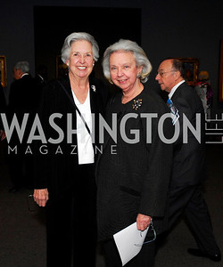 Millicent Adams, Phyllis Myers, February 23, 2011, Gauguin Opening, Kyle Samperton