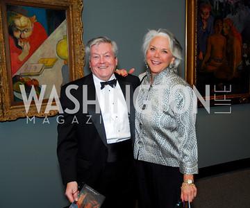 Hal McCombs, Lynne McCombs, February 23, 2011, Gauguin Opening, Kyle Samperton