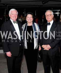 Rusty Powell, Nancy Powell, Richard Koshlek, February 23, 2011, Gauguin Opening, Kyle Samperton