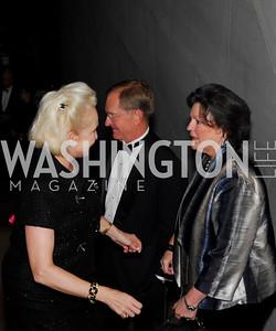 Jeanie Rutherfoord, Nancy Powell, February 23, 2011, Gauguin Opening, Kyle Samperton