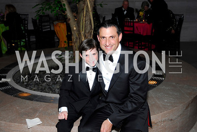 Alexander Stichman, Bennett Stichman, February 23, 2011, Gauguin Opening, Kyle Samperton