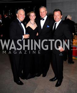 Robert Heggestad, Shannon Stichman, David Deckelbaum, Bruno Dhaine, February 23, 2011, Gauguin Opening, Kyle Samperton