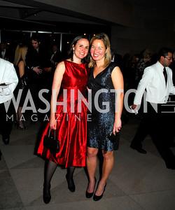 Erin Barnes, Philippa Hughes, February 23, 2011, Gauguin Opening, Kyle Samperton