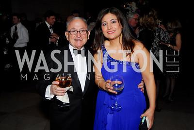 Allen Lewin, Lourdes Quinnteros, February 23, 2011, Gauguin Opening, Kyle Samperton
