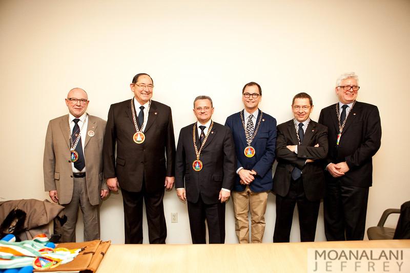 IMG_3022 Pierre Couzot, Francois Schmetlen, Roland Barthelemy, David Gremmels, Philippe Chevrollier, Louis Aird