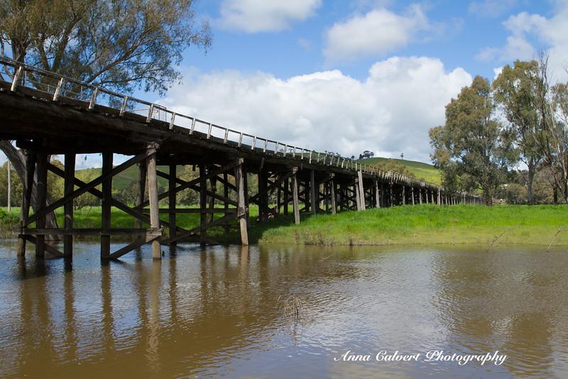Historic bridges of Gundagai