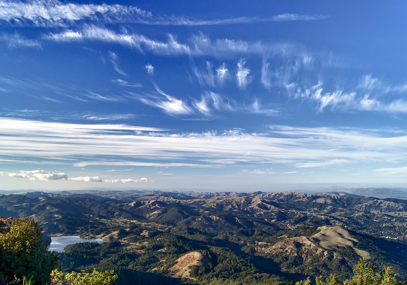 View from the top of Mount Tamalpias - Marin Country