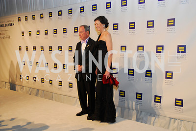 Michael Bloomberg,Diana Taylor,HRC Gala ,October 1,2011,Kyle Samperton