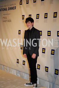 Grayson Chance,HRC Gala ,October 1,2011,Kyle Samperton