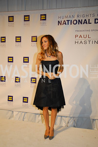 Sarah  Jessica Parker,HRC Gala ,October 1,2011,Kyle Samperton