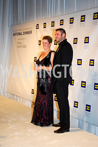 Jill Tipping ,Ben Cohen,HRC Gala ,October 1,2011,Kyle Samperton