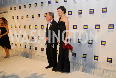 Sarah  Jessica Parker,Michael Bloomberg,Diana Taylor,HRC Gala ,October 1,2011,Kyle Samperton