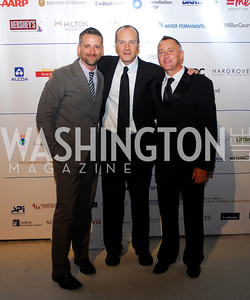 Joseph Ireland,Matthew Kinsey,Ben  Stearn,HRC Gala ,October 1,2011,Kyle Samperton