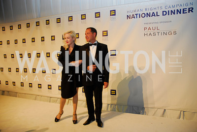 Cyndi Lauper,Joe Solmonse,HRC Gala ,October 1,2011,Kyle Samperton