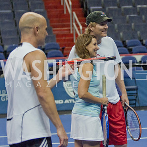 Andre Agassi, Jim Courier