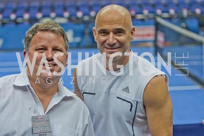 Andre Agassi, Jon Arundel