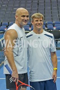 Andre Agassi, Mark Adams