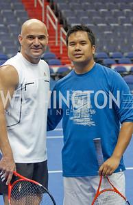 Andre Agassi, David Thong