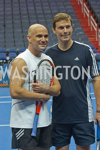 Andre Agassi, Pete Smith