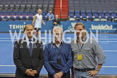Andre Agassi, Brett Haber, Larry Magid, Mark Ein