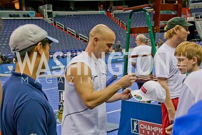Alex Duval, Andre Agassi
