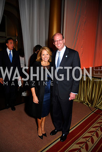 Katie Couric,Jonathan Reckford,Habitat for Humanity Gala,October 6,2011,Kyle Samperton