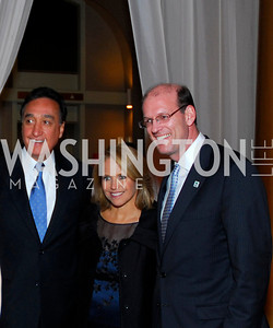 Henry Cisneros,Katie Couric,Jonathan Reckford,Habitat for Humanity Gala,October 6,2011,Kyle Samperton