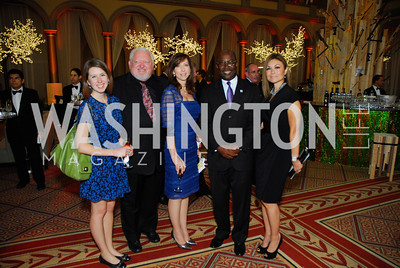 Bernadette White,Bob Ramsey,Gina Norio ,Claude Jeudy,Michelle Angle,Habitat for Humanity Gala,October 6,2011,Kyle Samperton