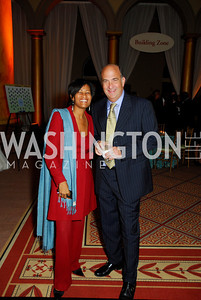 Cheryl Mills,Ken Merten,Habitat for Humanity Gala,October 6,2011,Kyle Samperton