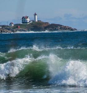 lighthouse & surf